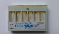 Бумажные штифты  Dispodent  №20  (200шт)