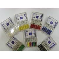 K-files Mani L25 ассорти iso 15-40 - дрильборы ручные (6шт)