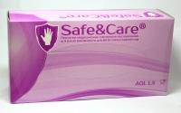 Медицинские перчатки Safe&Care смотровые нитриловые (S)  (200шт)