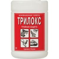 """Салфетки для дезинфекции """"Трилокс"""" банка 90шт."""