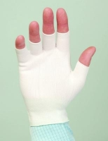 Медицинские перчатки нейлоновые стерильные, 280 ден, б/размера, без пальцев BioClean HalfFingers